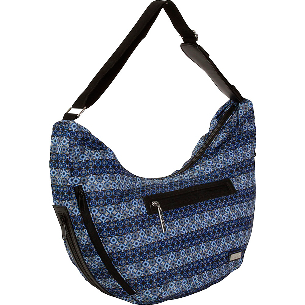 Hadaki City Hobo Grid - Hadaki Fabric Handbags - Handbags, Fabric Handbags