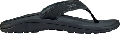 OluKai Mens Ohana Sandal 10 - Black/Dark Shadow - OluKai Men's Footwear