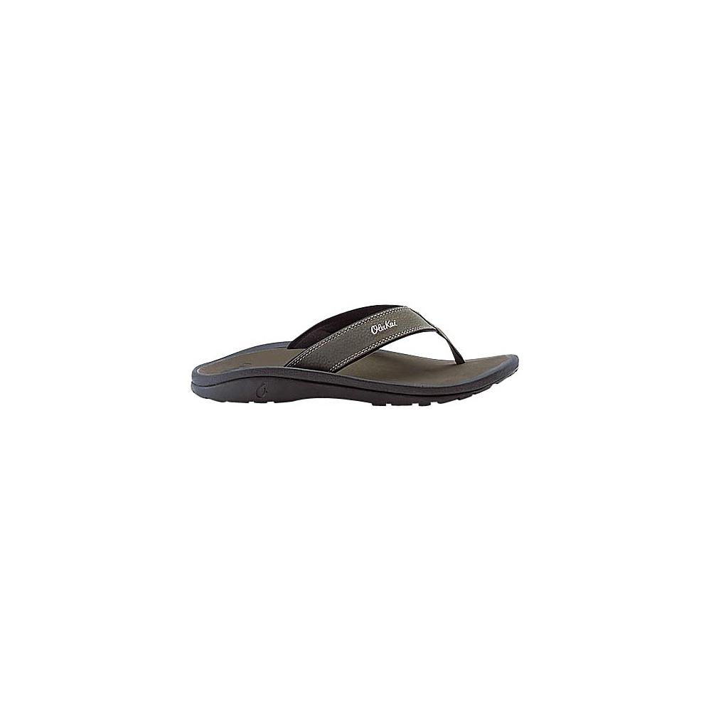 OluKai Mens Ohana Sandal 8 - Kona/Kona - OluKai Mens Footwear - Apparel & Footwear, Men's Footwear