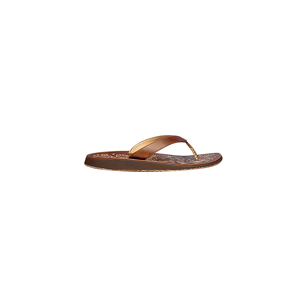 OluKai Womens Paniolo Sandal 11 - Natural/Natural - OluKai Womens Footwear - Apparel & Footwear, Women's Footwear