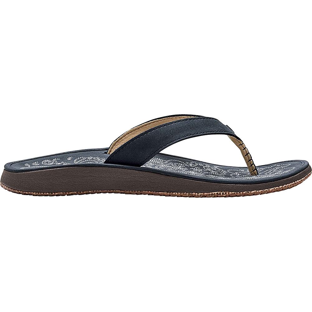 OluKai Womens Paniolo Sandal 9 - Trench Blue/Trench Blue - OluKai Womens Footwear - Apparel & Footwear, Women's Footwear