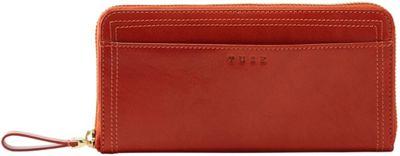 TUSK LTD Single Zip Gusseted Clutch Pumpkin - TUSK LTD Women's Wallets