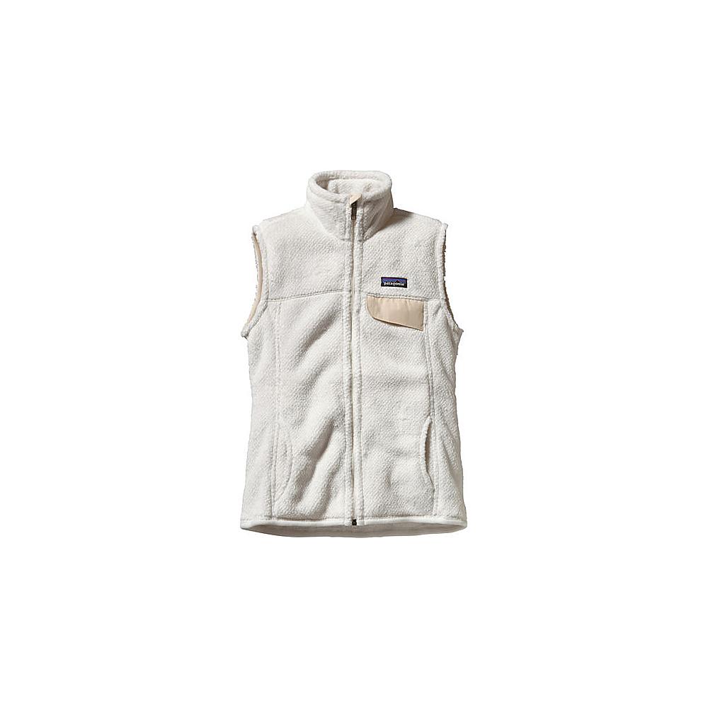 Patagonia Womens Re-Tool Vest M - Raw Linen - White X-Dye - Patagonia Womens Apparel - Apparel & Footwear, Women's Apparel