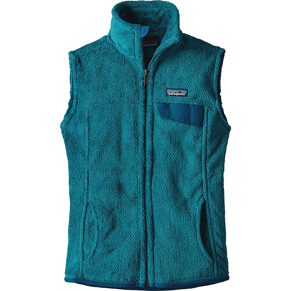 Patagonia Womens Re-Tool Vest XS - True Teal - Big Sur Blue X-Dye - Patagonia Womens Apparel - Apparel & Footwear, Women's Apparel
