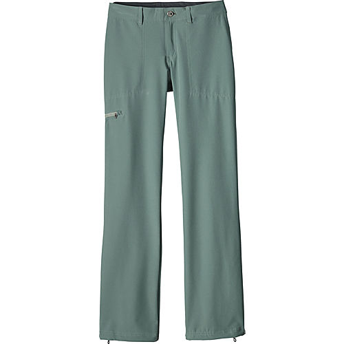 New  Sahara Nylon Convertible Hiking Travel Pants Womens 10 Petite Grey