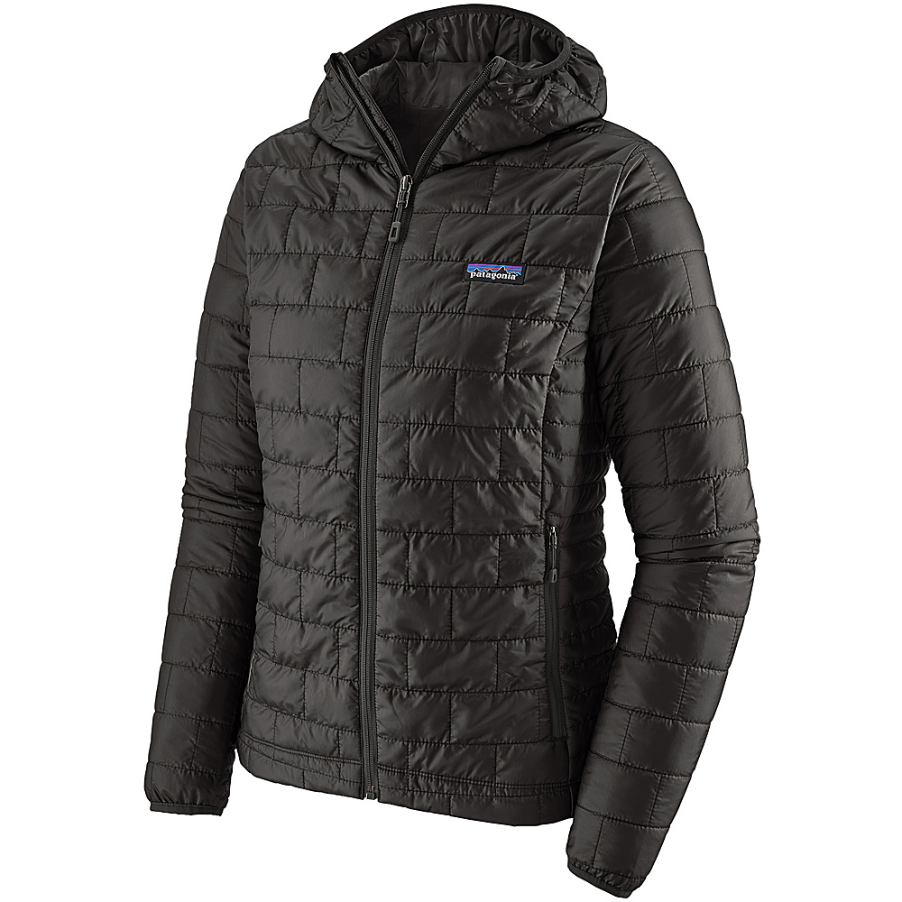 Patagonia Womens Nano Puff Hoody L - Black - Patagonia Womens Apparel - Apparel & Footwear, Women's Apparel