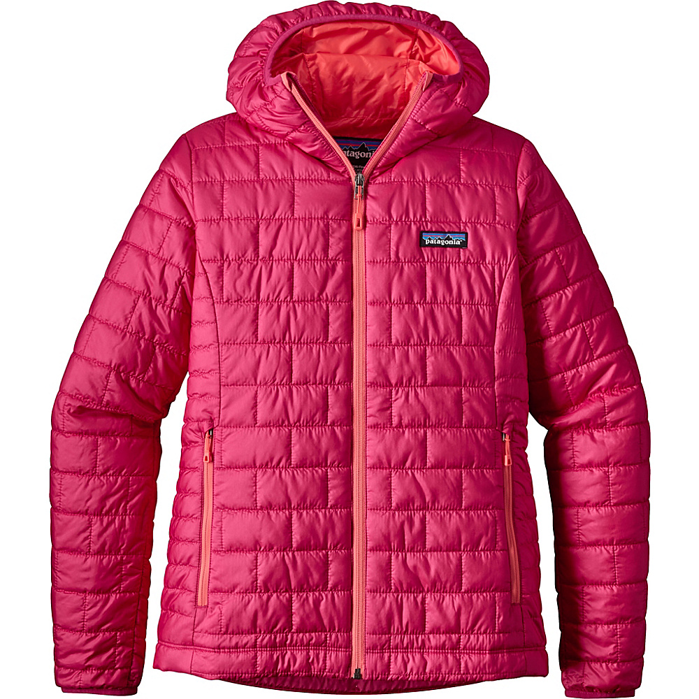 Patagonia Womens Nano Puff Hoody L - Craft Pink - Patagonia Womens Apparel - Apparel & Footwear, Women's Apparel