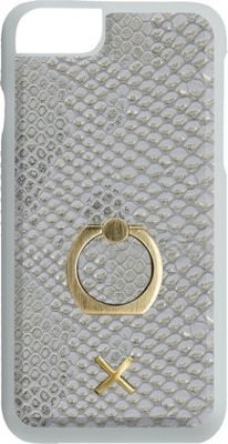 Candywirez Ring Case for iPhone 7 White Gold Crocodile - Candywirez Electronic Cases