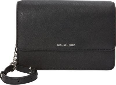 MICHAEL Michael Kors Daniela Large Crossbody Black - MICHAEL Michael Kors Designer Handbags
