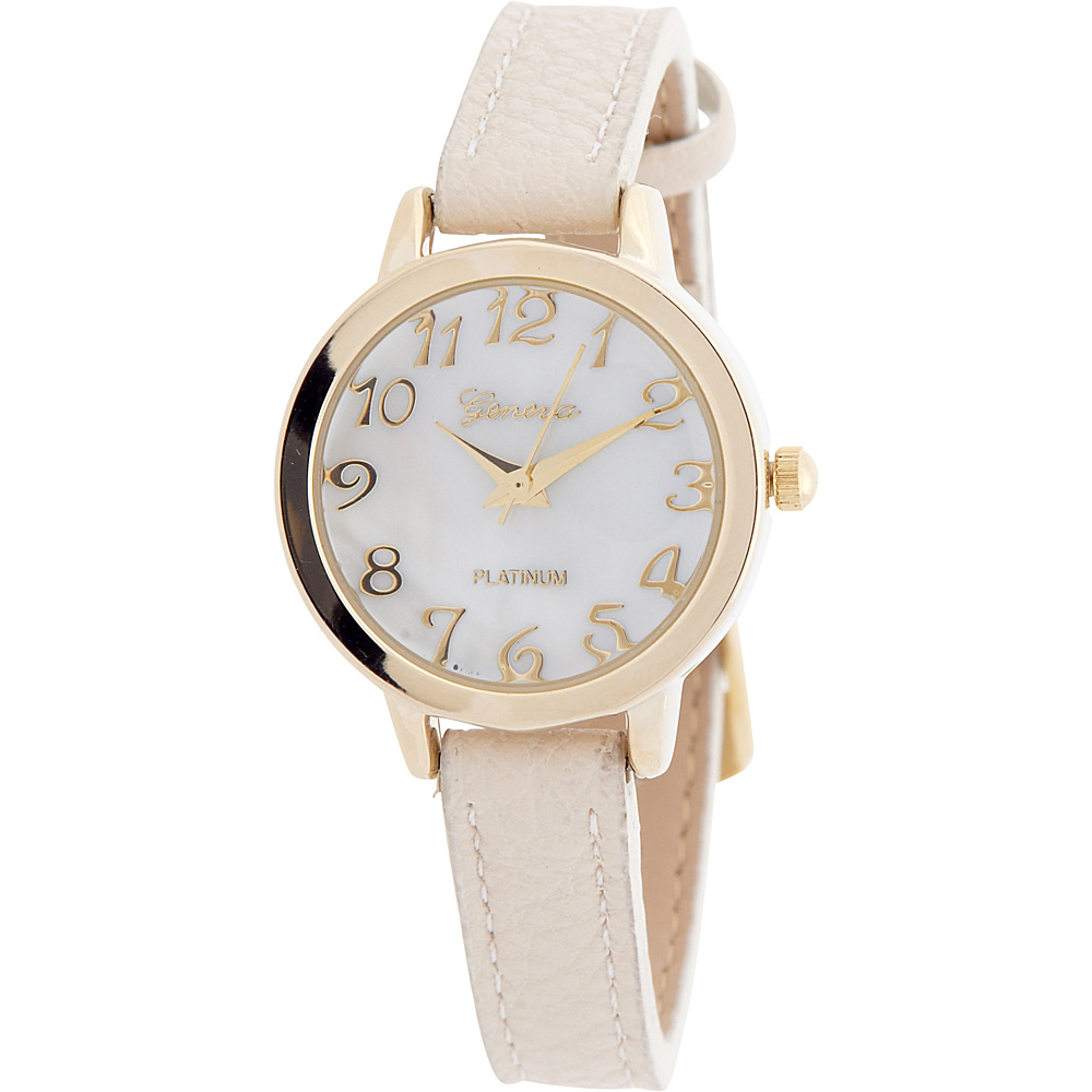 Samoe Tan Band Watch Ivory Samoe Watches