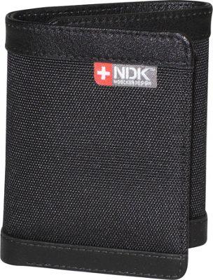 Nidecker Design Cosmopolitan Three-Fold Wallet Coal - Nidecker Design Men's Wallets