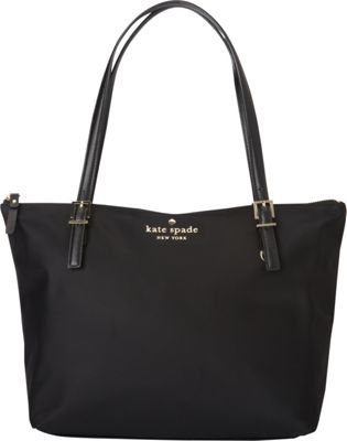 kate spade new york Watson Lane Small Maya Shoulder Bag Black - kate spade new york Designer Handbags