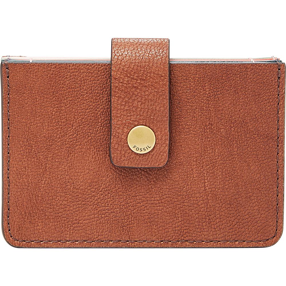Fossil Mini Tab Wallet Medium Brown - Fossil Womens Wallets - Women's SLG, Women's Wallets