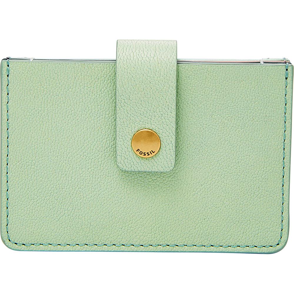 Fossil Mini Tab Wallet Misty Jade - Fossil Womens Wallets - Women's SLG, Women's Wallets
