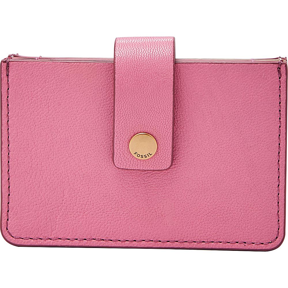 Fossil Mini Tab Wallet Wild Rose - Fossil Womens Wallets - Women's SLG, Women's Wallets