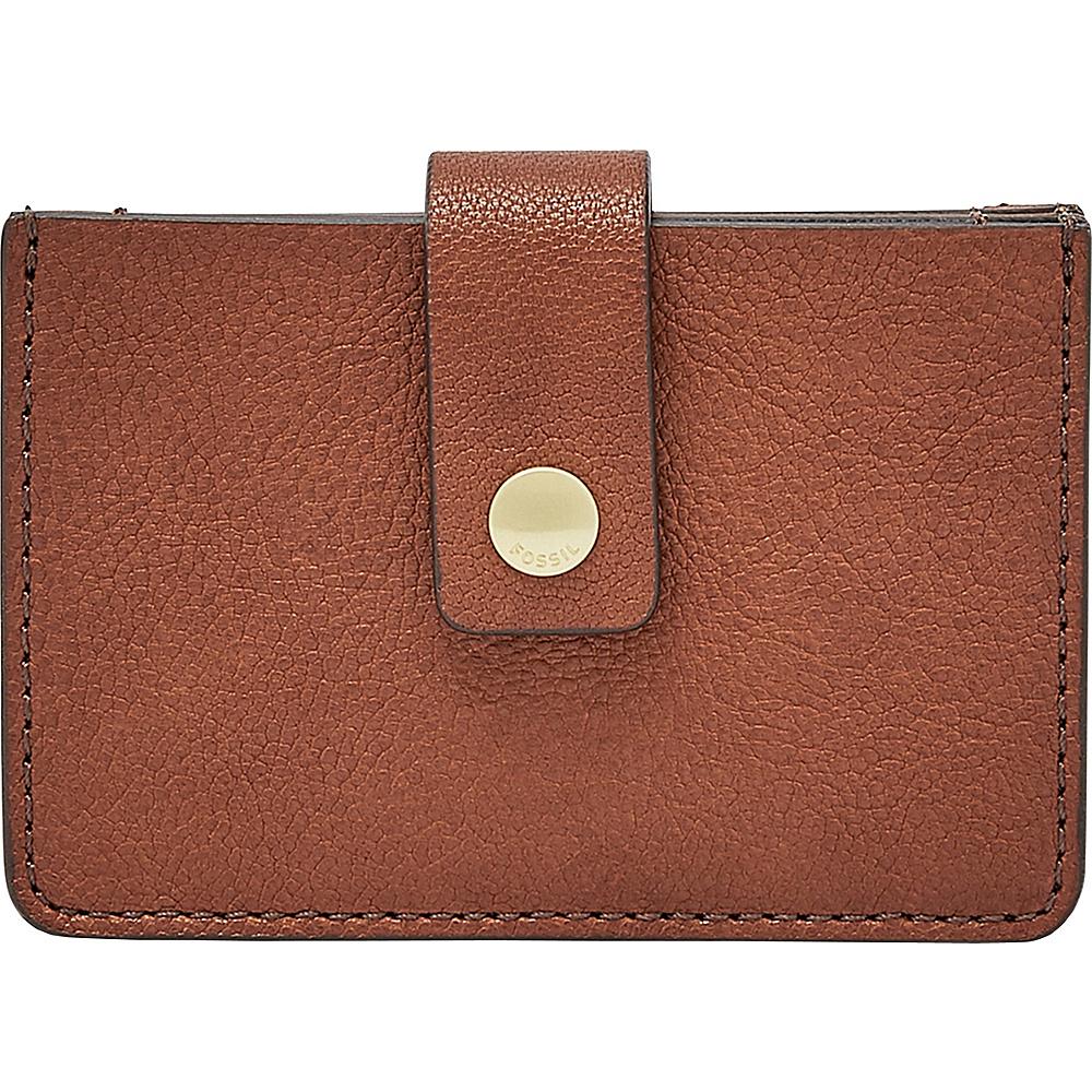 Fossil Mini Tab Wallet Brown - Fossil Womens Wallets - Women's SLG, Women's Wallets