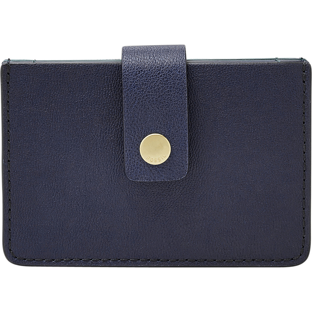 Fossil Mini Tab Wallet Midnight Navy - Fossil Womens Wallets - Women's SLG, Women's Wallets