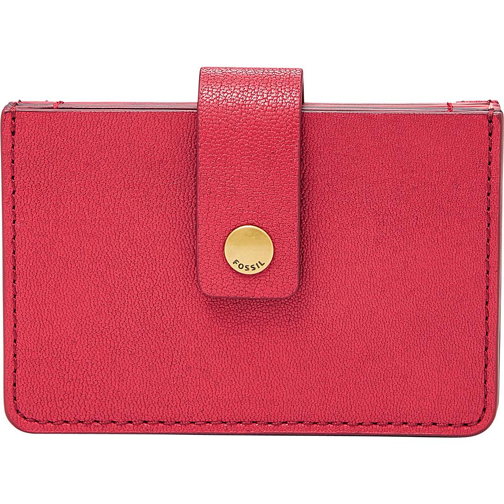 Fossil Mini Tab Wallet Red Velvet - Fossil Womens Wallets - Women's SLG, Women's Wallets