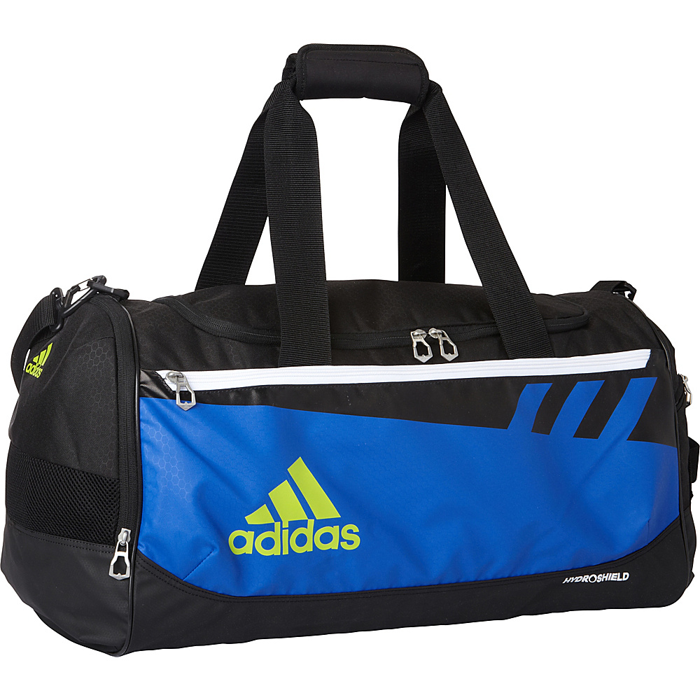 86935c7266 adidas Team Issue Medium X Duffel Bag - Exclusive Bold Blue Black Solar  Slime