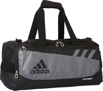 adidas Team Issue Medium X Duffel Bag - Exclusive Heather Grey/Black - adidas All-Purpose Duffels 10526196