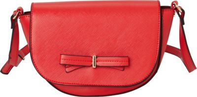 La Diva Brazil Crossbody Red - La Diva Manmade Handbags