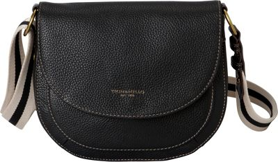 Tignanello The Explorer Saddle Bag Black - Tignanello Leather Handbags
