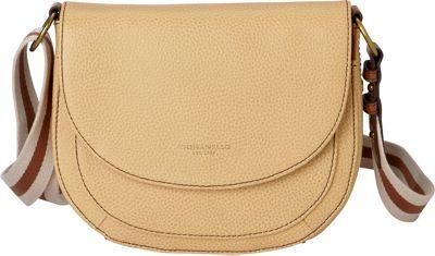 Tignanello The Explorer Saddle Bag Tan - Tignanello Leather Handbags