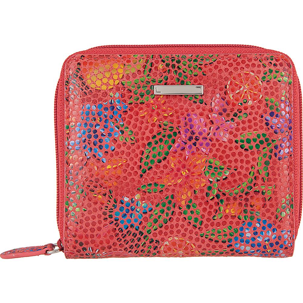 Lodis Fruitilicious Amaya Zip French Wallet Cherry - Lodis Womens Wallets - Women's SLG, Women's Wallets