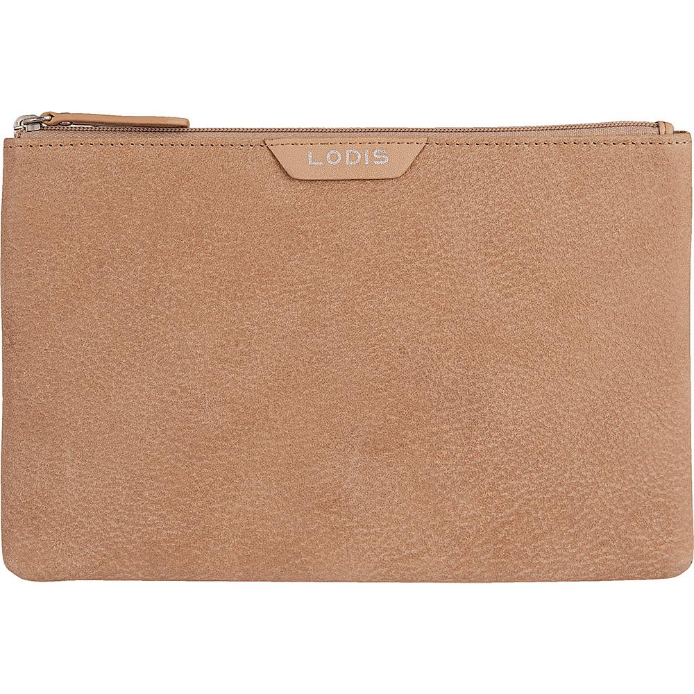 Lodis Gijon Flat pouch Desert - Lodis Womens Wallets - Women's SLG, Women's Wallets