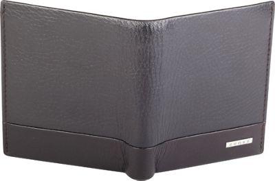 Cross Folded Leather ID Card Case Coffee - Cross Men's Wallets