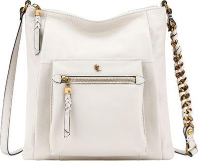 Elliott Lucca Gwen Flat Crossbody Stone Superstar - Elliott Lucca Designer Handbags