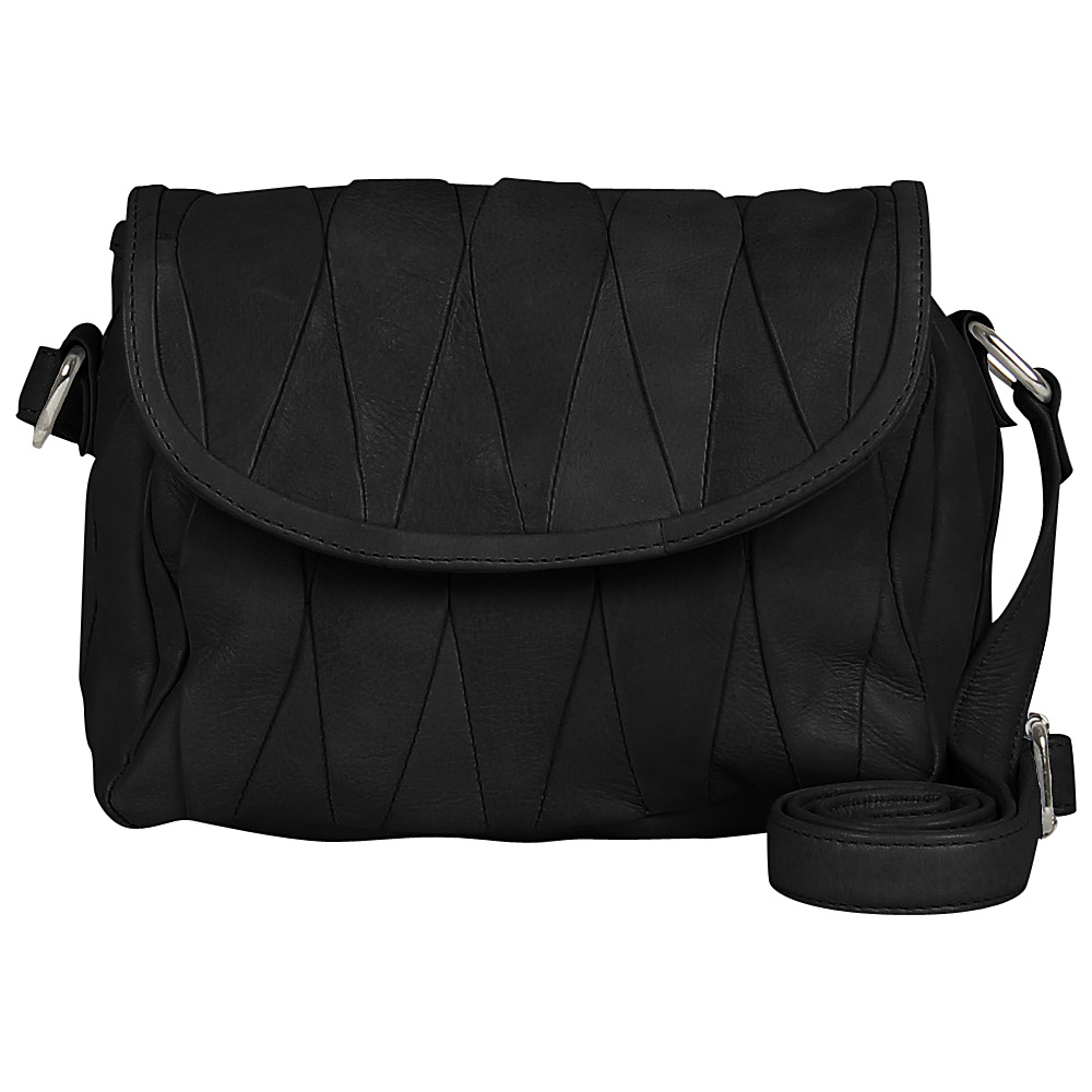 Day Mood Hale Crossbody Black Day Mood Leather Handbags