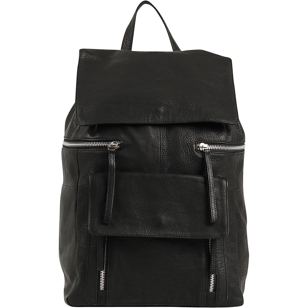 Day Mood Hannah Backpack Black Day Mood Leather Handbags