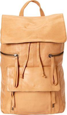 Day & Mood Hannah Backpack Camel - Day & Mood Leather Handbags
