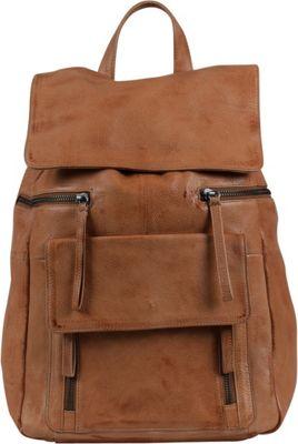 Day & Mood Hannah Backpack Cognac - Day & Mood Leather Handbags