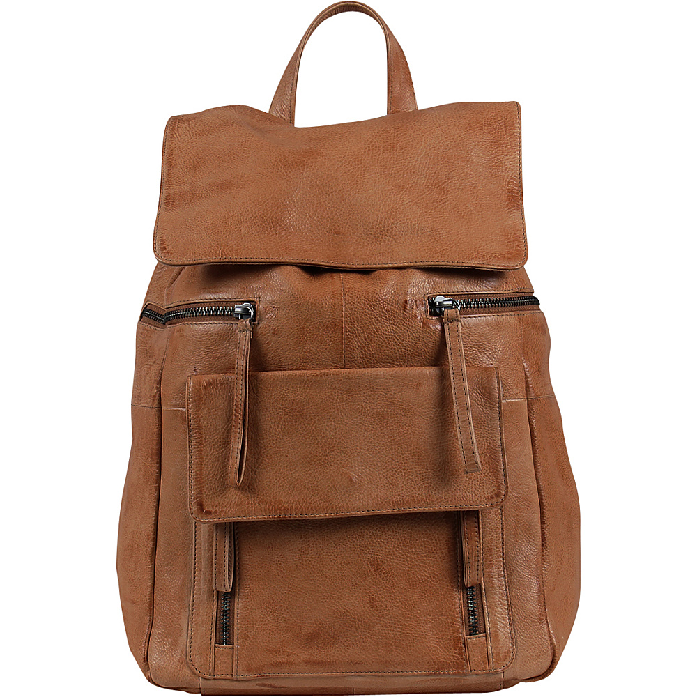 Day Mood Hannah Backpack Cognac Day Mood Leather Handbags