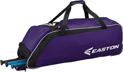 Easton E510W Wheeled Equipment Bag Purple - Easton Gym Bags