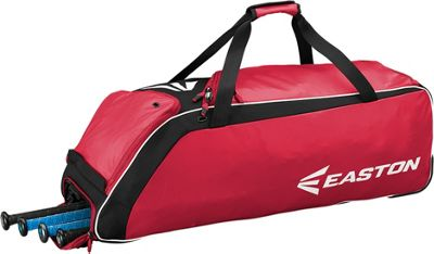 Easton E510W Wheeled Equipment Bag Red - Easton Gym Bags