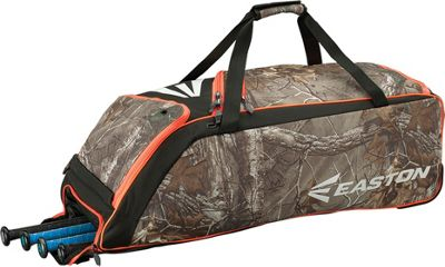 Easton E510W Wheeled Equipment Bag RealTree - Easton Gym Bags