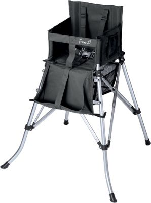 Creative Outdoor Creative Outdoor Folding Portable High Chair Black - Creative Outdoor Outdoor Accessories