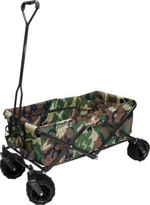 Creative Outdoor Fold Wagon All Terrain Camo - Creative Outdoor Outdoor Accessories