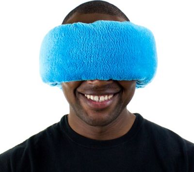 Wrap-a-Nap Travel Pillow, Sleep Mask & Earmuff Poseidon