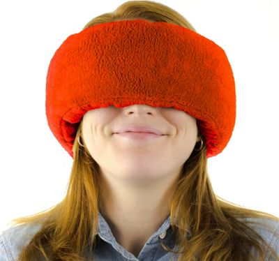 Wrap-a-Nap Travel Pillow, Sleep Mask & Earmuff Ruby