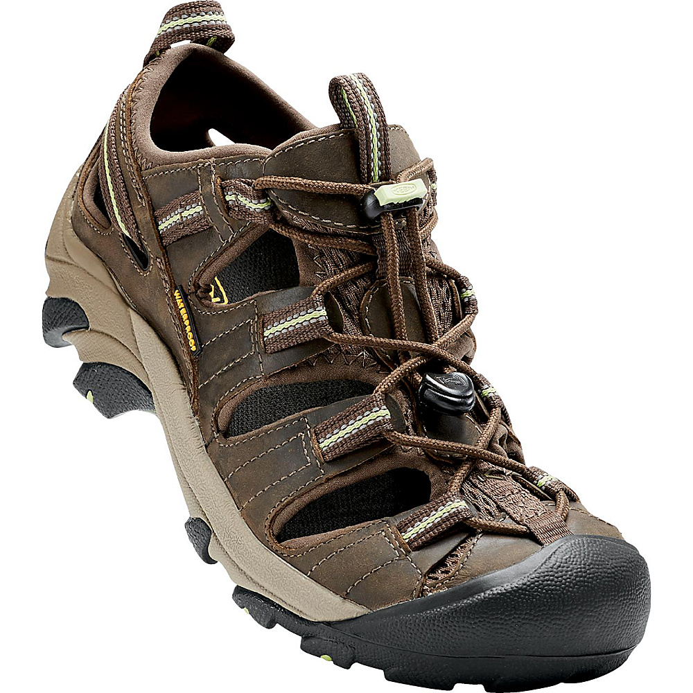 KEEN Womens Arroyo ll Sandal 9 - Chocolate Chip/Sap Green - KEEN Womens Footwear - Apparel & Footwear, Women's Footwear