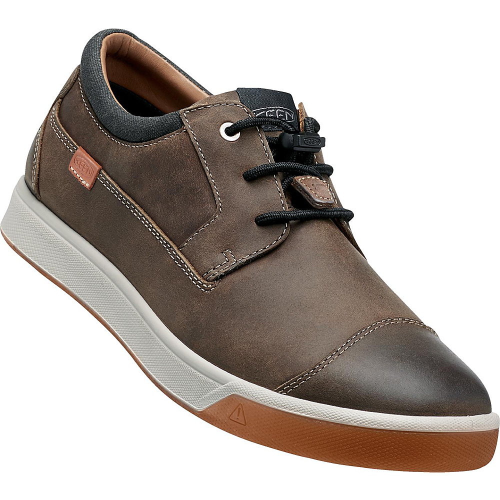 KEEN Mens Glenhaven Sneaker 9.5 - Cascade Brown - KEEN Mens Footwear - Apparel & Footwear, Men's Footwear