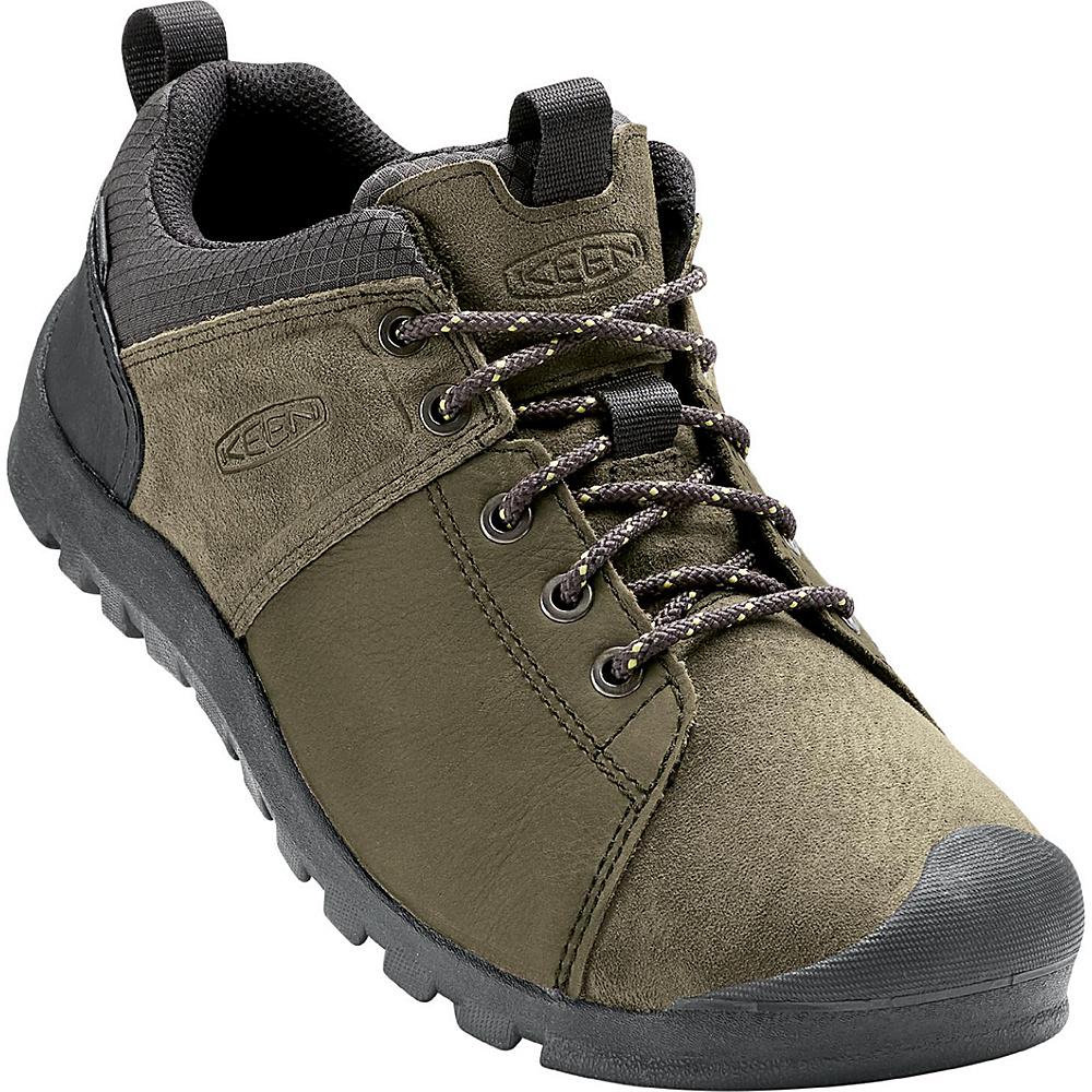 KEEN Mens Citizen Waterproof Shoe 8.5 - Caper/Nugget - KEEN Mens Footwear - Apparel & Footwear, Men's Footwear