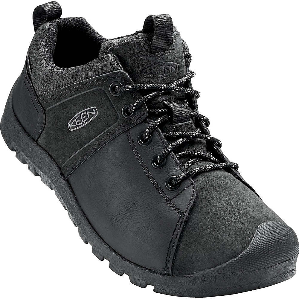 KEEN Mens Citizen Waterproof Shoe 13 - Magnet/Black - KEEN Mens Footwear - Apparel & Footwear, Men's Footwear