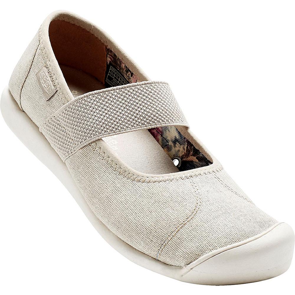 KEEN Womens Sienna MJ Canvas Slip-On 9.5 - Feather Grey - KEEN Womens Footwear - Apparel & Footwear, Women's Footwear