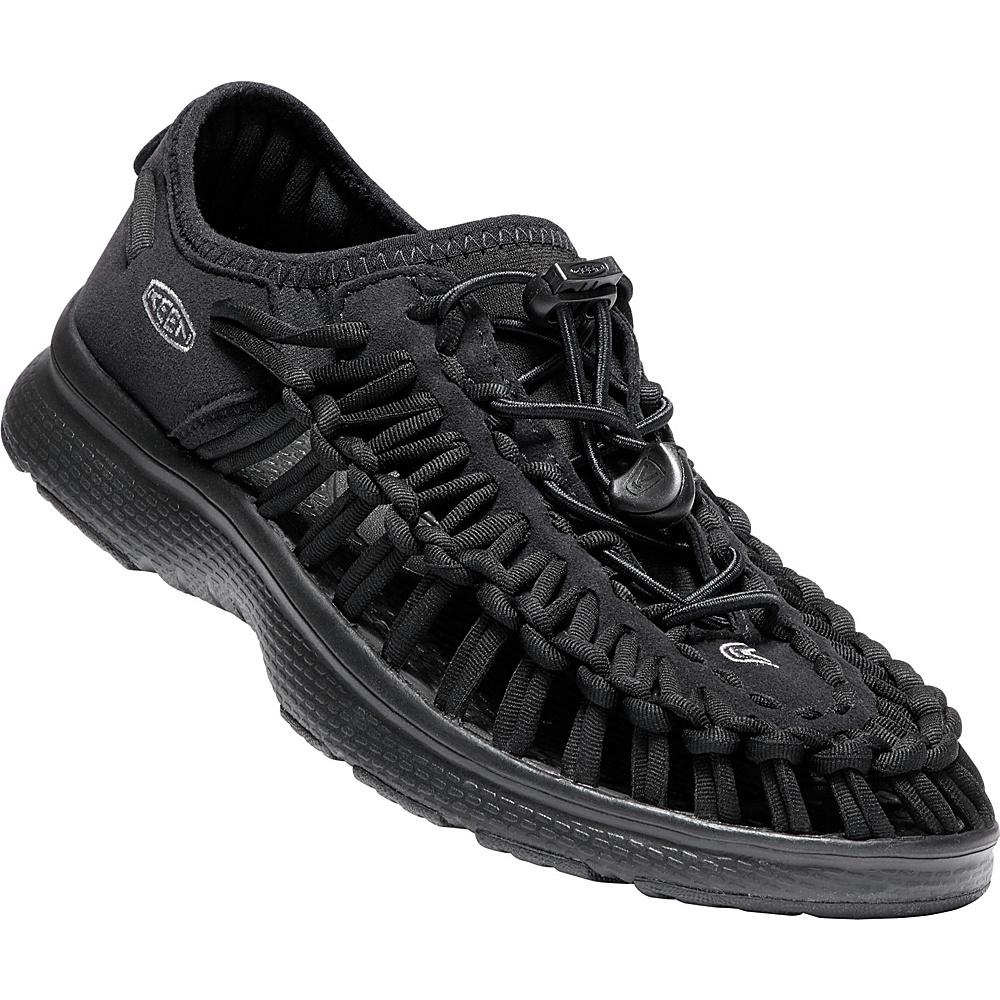 KEEN Womens UNEEK O2 Sandal 9 - Black/Black - KEEN Womens Footwear - Apparel & Footwear, Women's Footwear