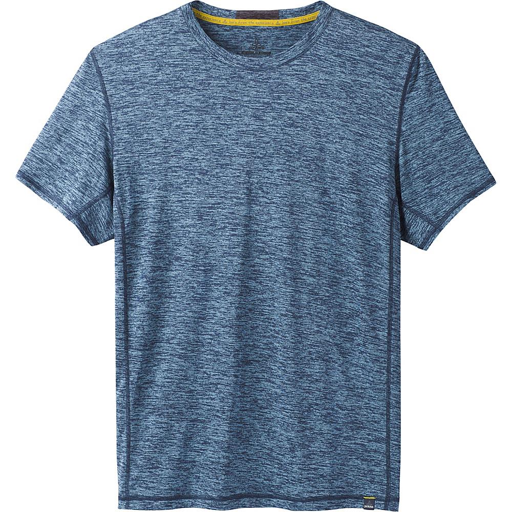 PrAna Hardesty Short Sleeve T-Shirt XXL - Dusky Skies - PrAna Mens Apparel - Apparel & Footwear, Men's Apparel